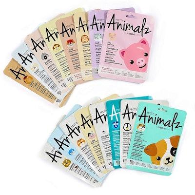 Masque BAR Animal Face Sheets (16 Pack)