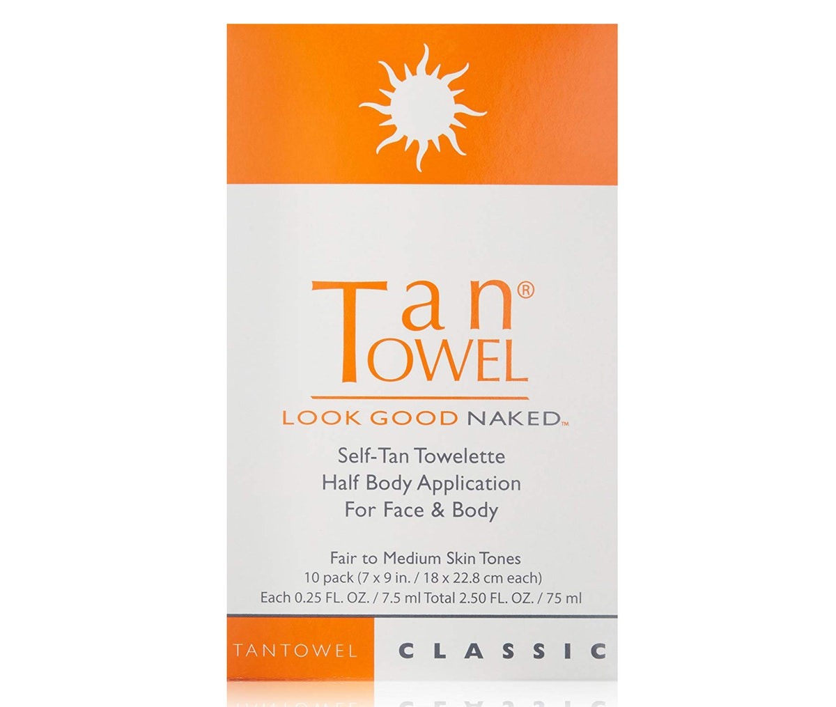 Tan Towel Self Tan Towelette Classic (10-Pack)