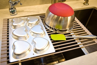 Surphas Over The Sink Dish Drying Rack