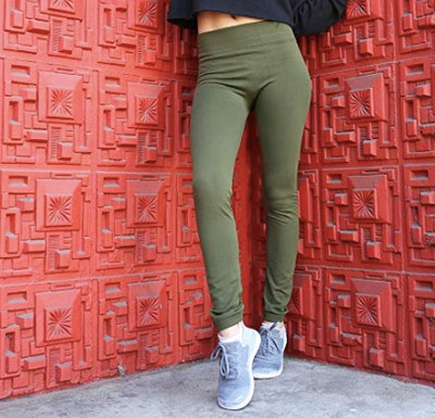 Free To Live Fleece-Lined Leggings (6-Pack)