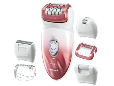 Panasonic ES-ED90-P Wet/Dry Epilator And Shaver