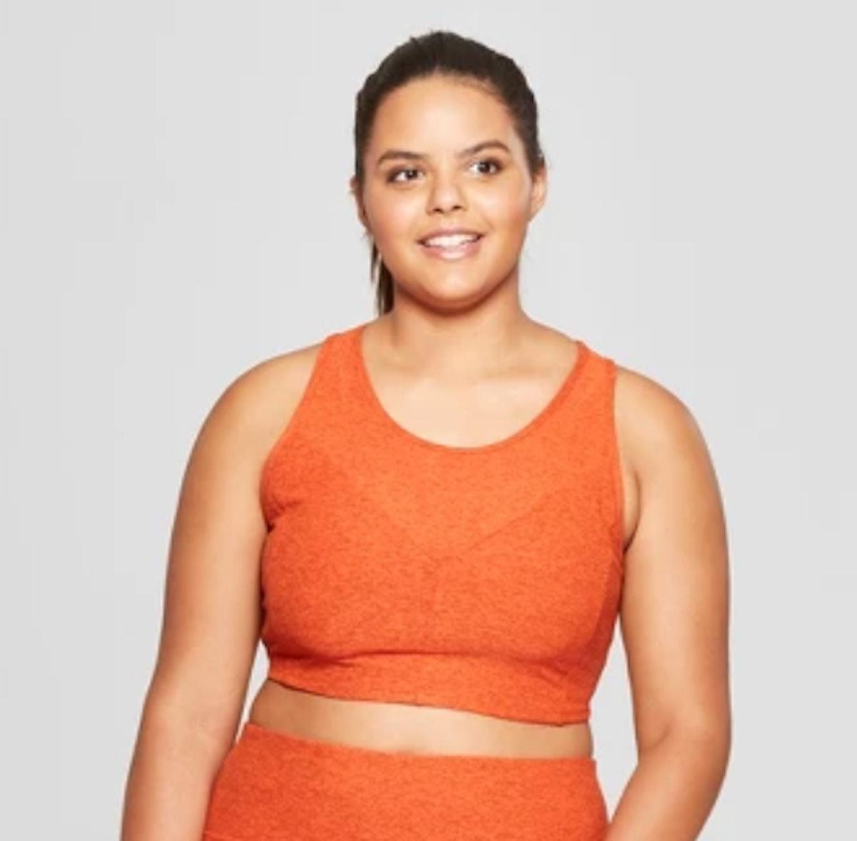 Women's Plus Longline Sports Bra - JoyLab