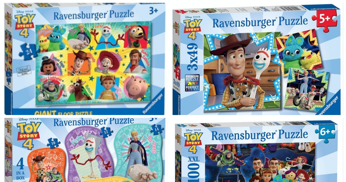 These 'Toy Story 4' Jigsaw Puzzles Will Help You Piece Together The Plot Before You Even See The Movie