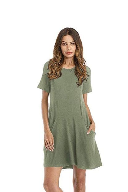 ZeroCity Women's Casual Tunic Dress
