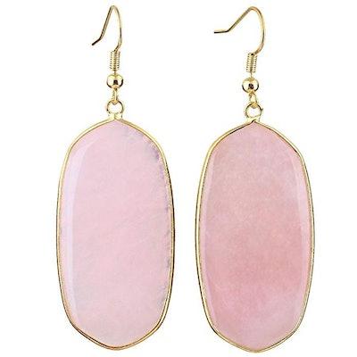 SUNYIK Crystal Dangle Drop Earrings