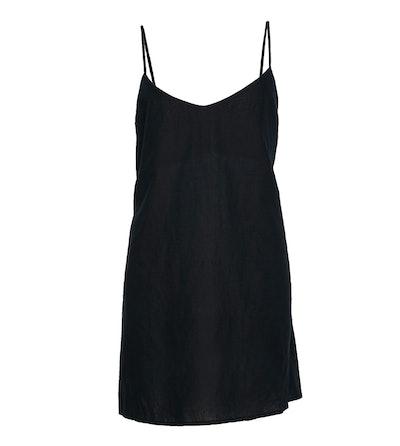 Km Tie Mini Dress