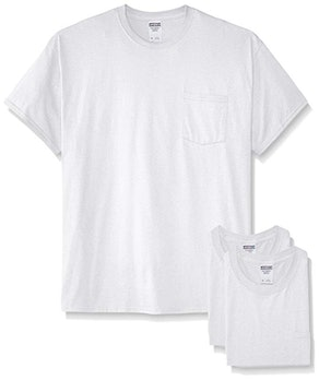 Jerzees Short Sleeve Pocket T-Shirts (Pack of 3)