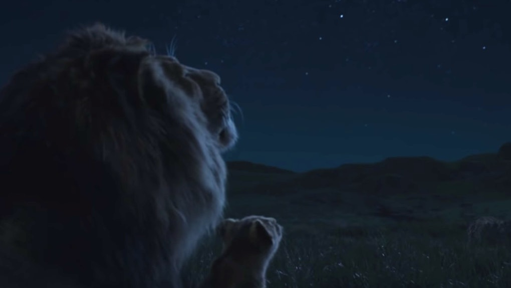 Mufasas Circle Of Life Speech In The New Lion King