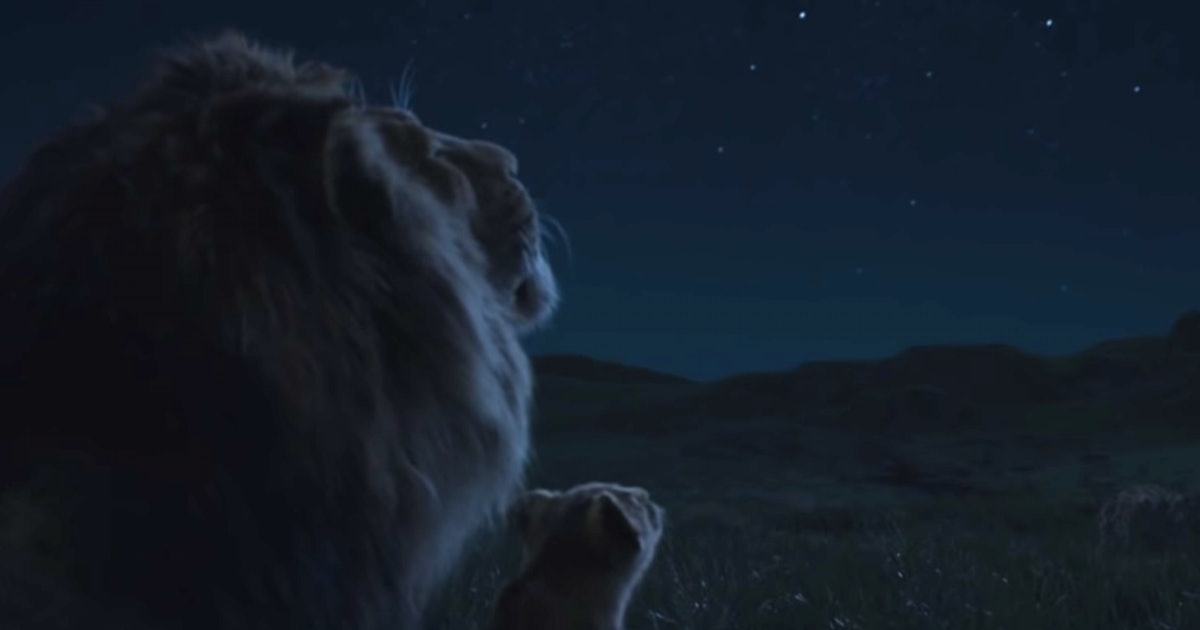 Mufasa's Circle Of Life Speech In The New 'Lion King' Trailer Will Give You Feels