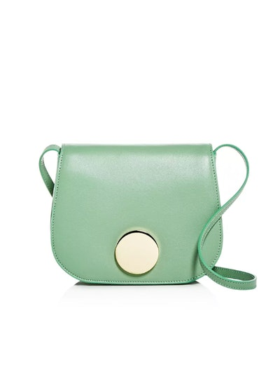 Leather Mini Saddle Bag
