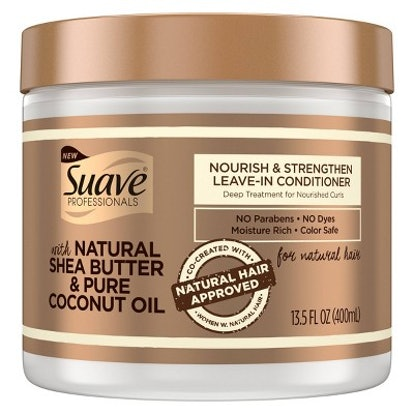 Suave Professionals for Natural Hair Nourish & Strengthen Leave-In Conditioner