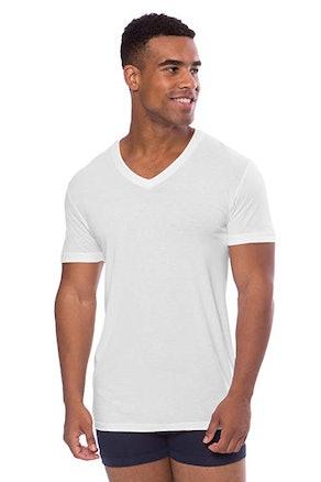 Texere Men's V-Neck Luxury Undershirt