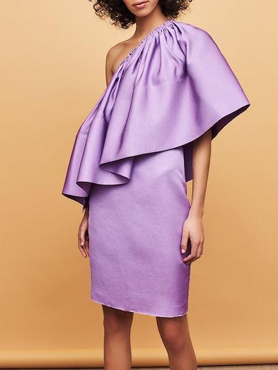 Layci Dress In Dark Lilac