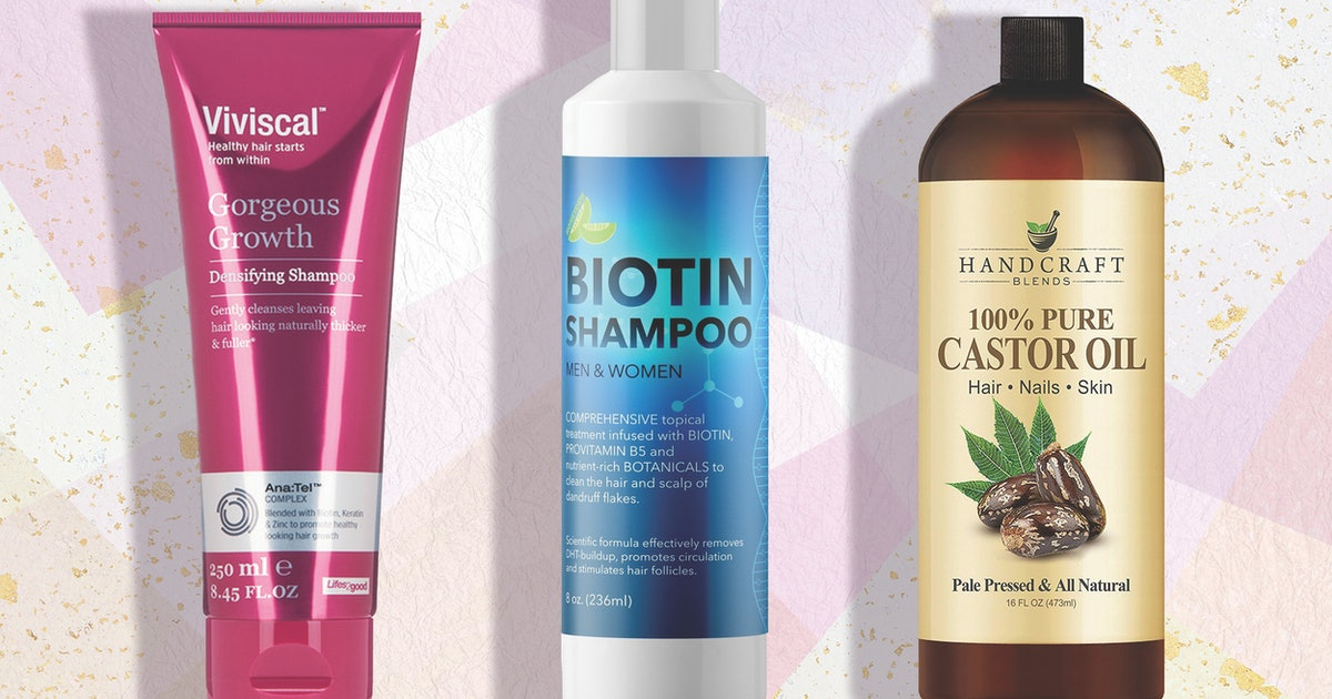 The 6 Best Products For Hair Growth And Thickness