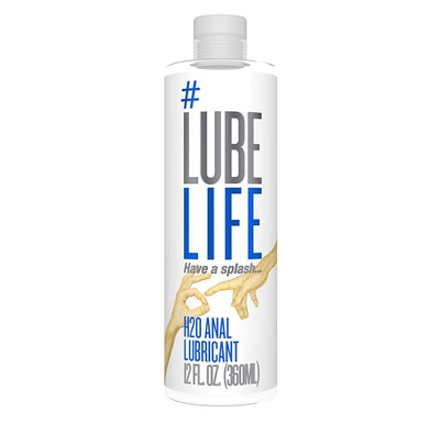 #LubeLife H2O Anal Lubricant