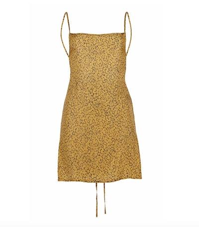 Back-Tied Mini Dress