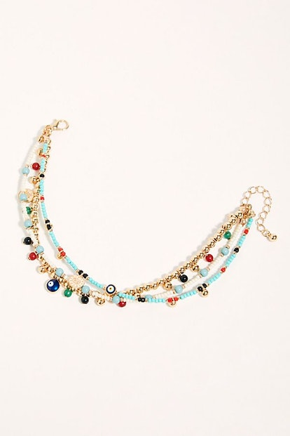 Treasure Layer Anklet