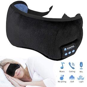 Homder Sleep Headphones Bluetooth 5.0 Wireless Eye Mask