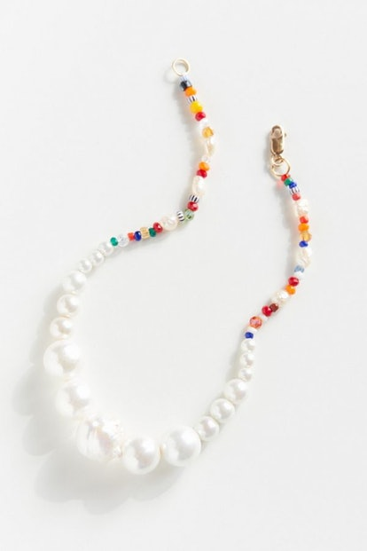 Luiny Simple Pearls Anklet