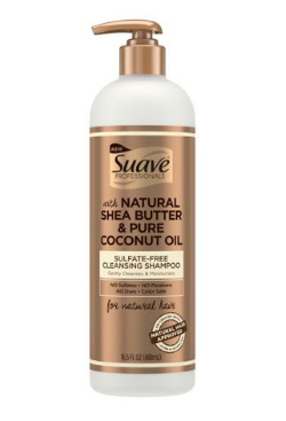 Suave Professionals for Natural Hair Sulfate-Free Cleansing Shampoo