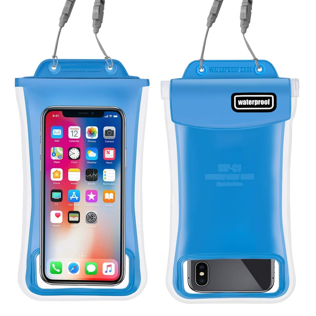 Gihery Waterproof Phone Pouch (2 Pack)