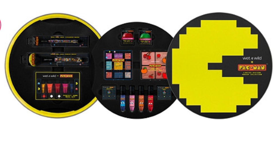 What's In Wet N Wild's Pac-Man Makeup Collection? It's '80s