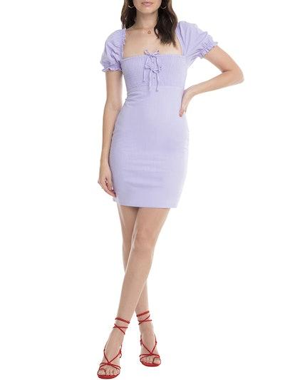 Bea Square Neck Minidress