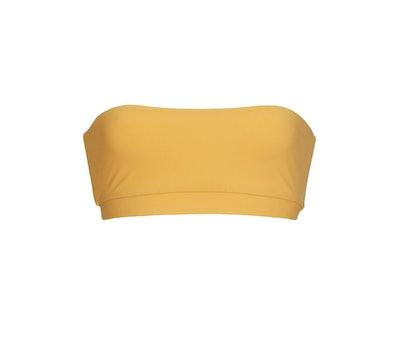Banded Bandeau Bikini Top