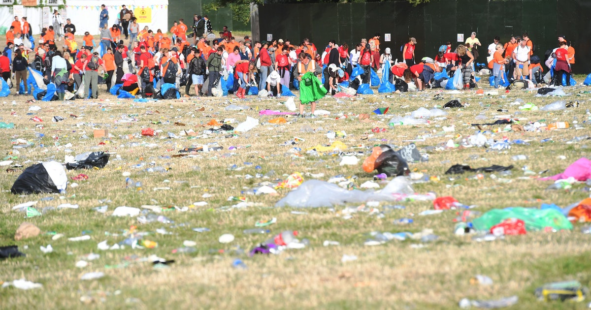 Glastonbury's Rules On Single-Use Plastic Aim To Make 2019 Their Most Sustainable Festival Yet