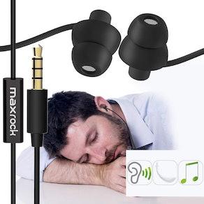 MaxRock Silicon Sleeping Headphones