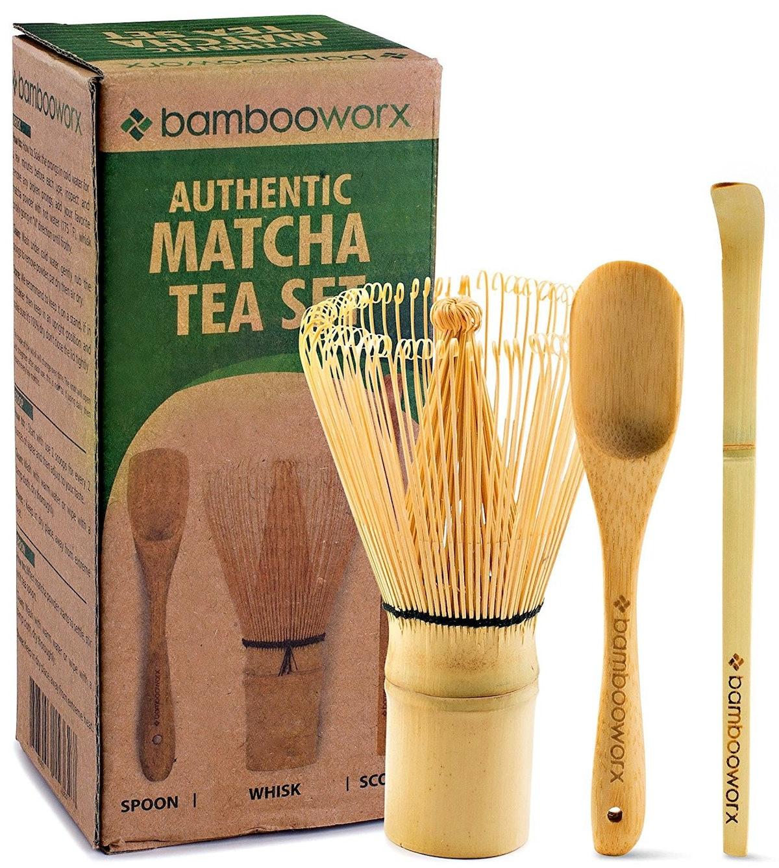 Bambooworx Japanese Matcha Tea Set