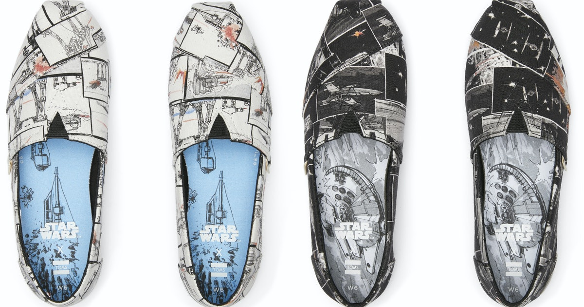 This TOMS & 'Star Wars' Footwear Collab Is A Wearable Force To Be Reckoned With