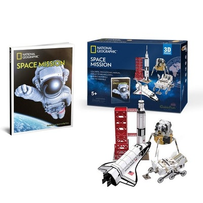 National Geographic Space Mission 3D Puzzle 80 pc