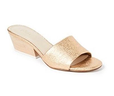 Carlie Block Heel Slides