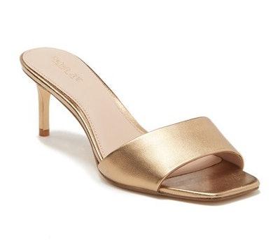 Samantha Kitten Heel Slide Sandal