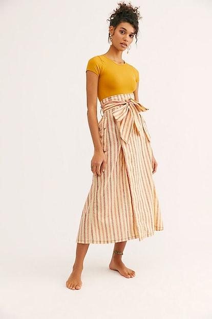 FP One Natalia Striped Skirt