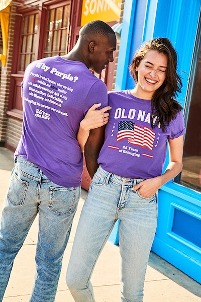 Old Navy Limited Edition 25th Anniversary Flag Tee