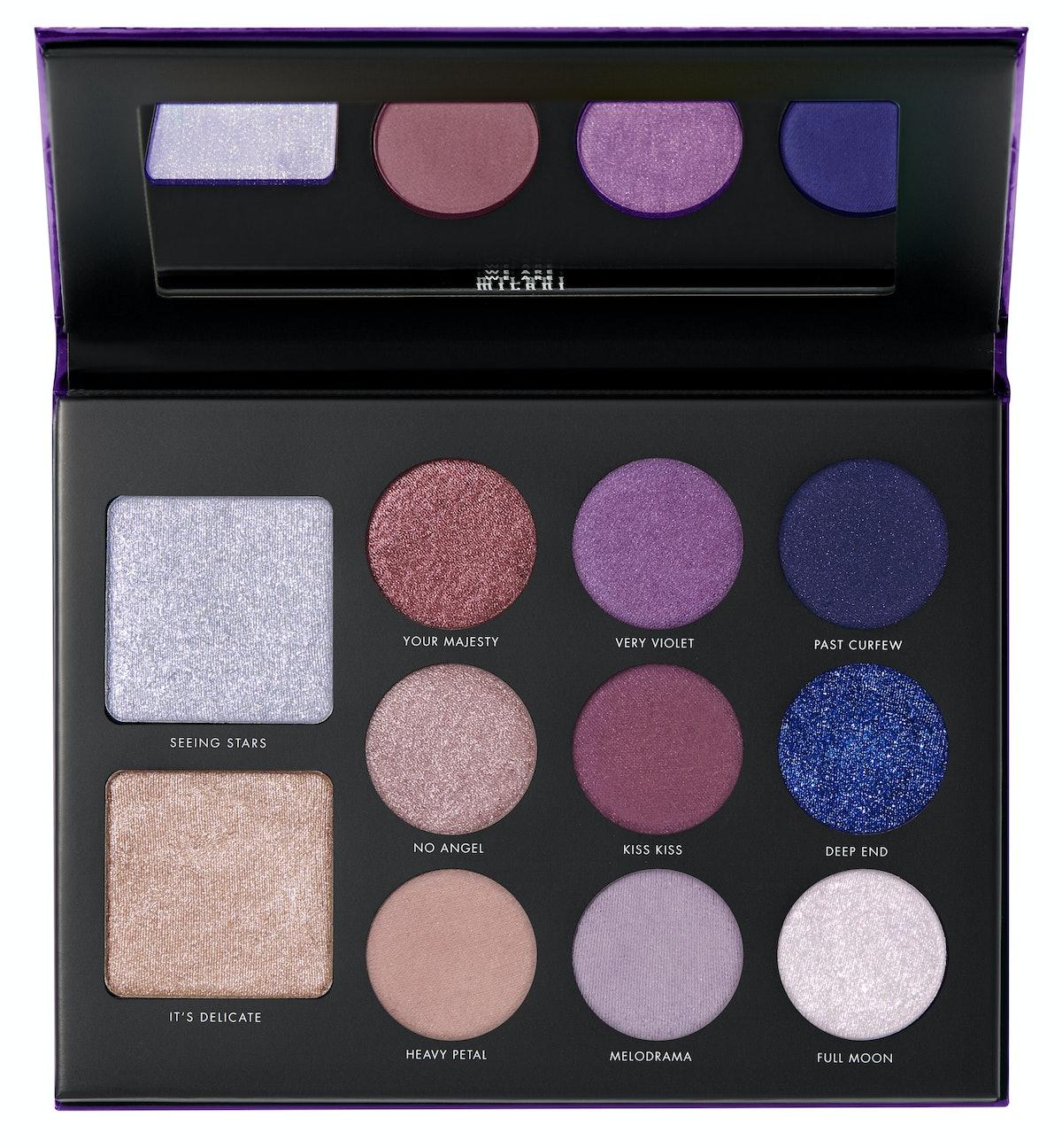 Gilded Violet Palette