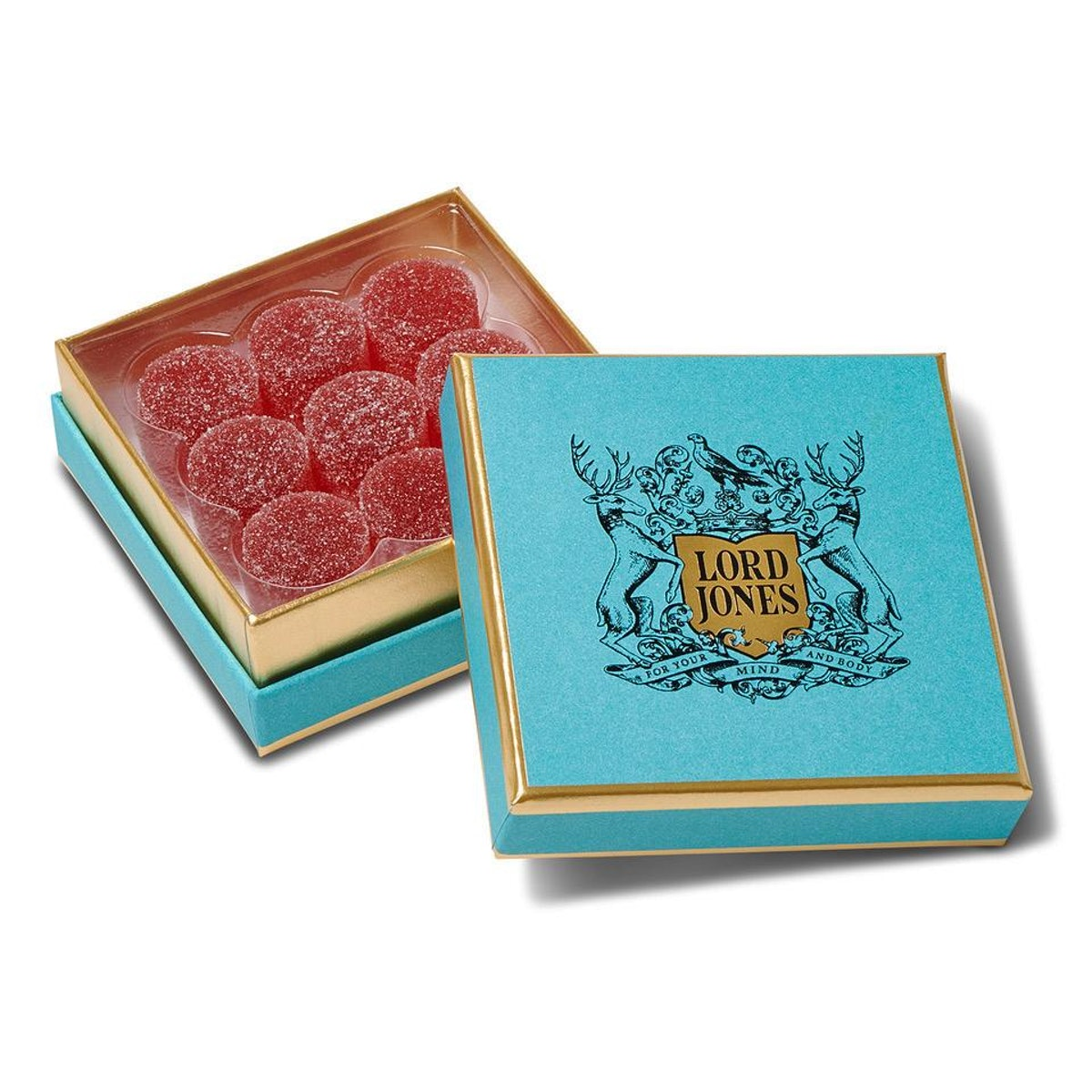 Limited Edition Red Raspberry Summer CBD Gumdrops