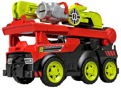 Rescue Heroes Transforming Fire Truck with Lights & Sounds
