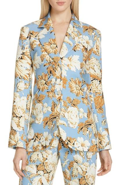 Florence Floral Print Blazer