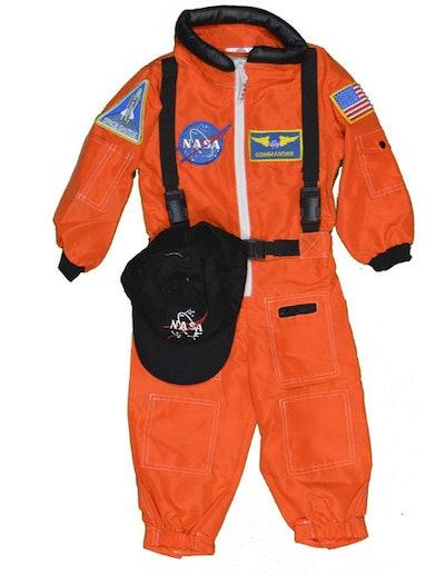 Orange Astronaut Flight Suit