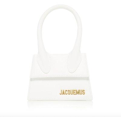 Le Chiquito Mini Leather Bag in White