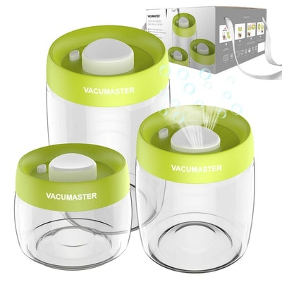 Vacumaster Glass Food Storage Containers (3 Pack)