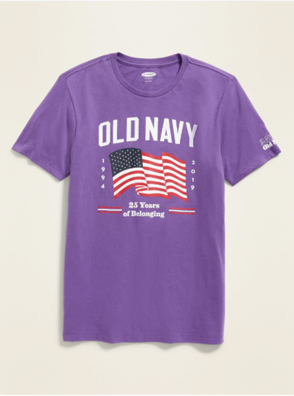 Limited Edition 25th Anniversary Flag Tee for Adults