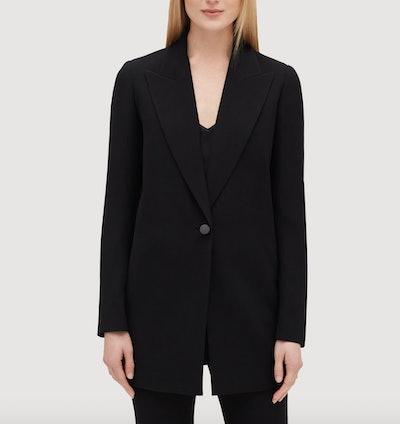 Plus Size Finesse Crepe Kourt Jacket