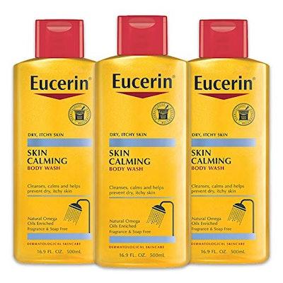 Eucerin Skin Calming Body Wash (3-Pack)