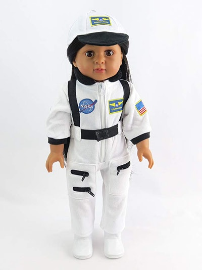 American White Space Suit
