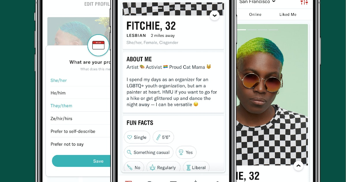 HER App Will Include Space For 18 Sexuality Options, Your Pronouns & Your Zodiac Sign