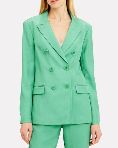 Oversized Mint Green Blazer